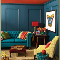 Indigo Blue Living Room Decor