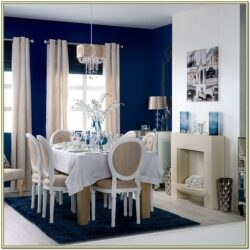 Indigo Living Room Decor