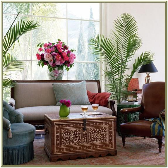 Indoor Plant Table Decor Living Room