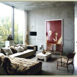 Industrial Chic Living Room Decor