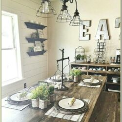 Industrial Farmhouse Living Room Wall Decor Ideas