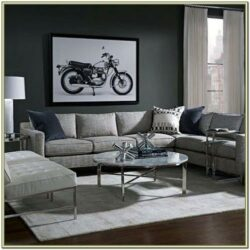 Interior Decor Living Room Pouf