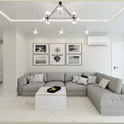 Interior Decorating White Living Room