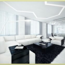 Interior Design Black And White Living Room