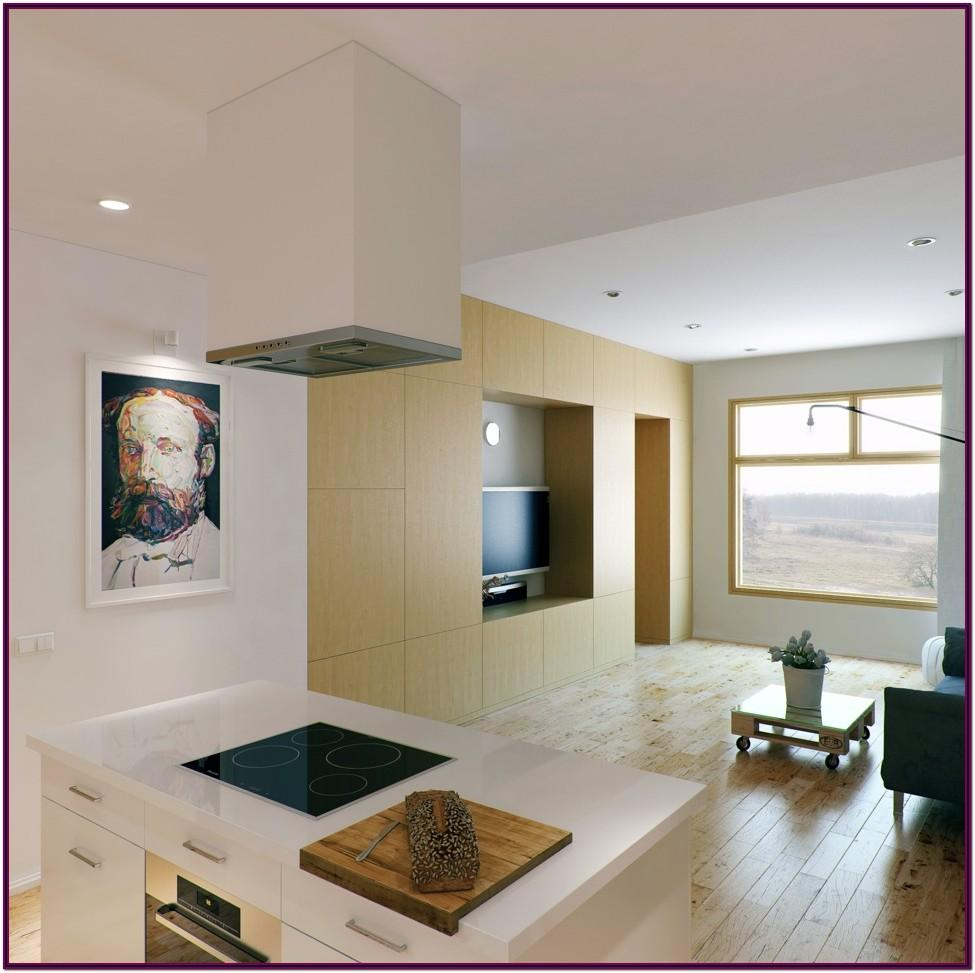 Interior Design For Living Room And Kitchen