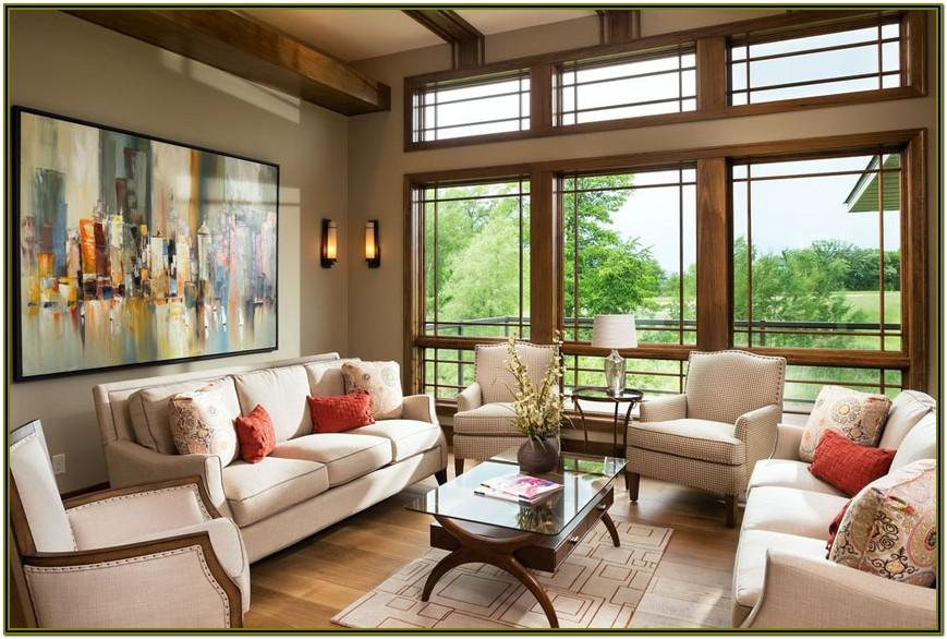 Interior Design For Living Room Windows
