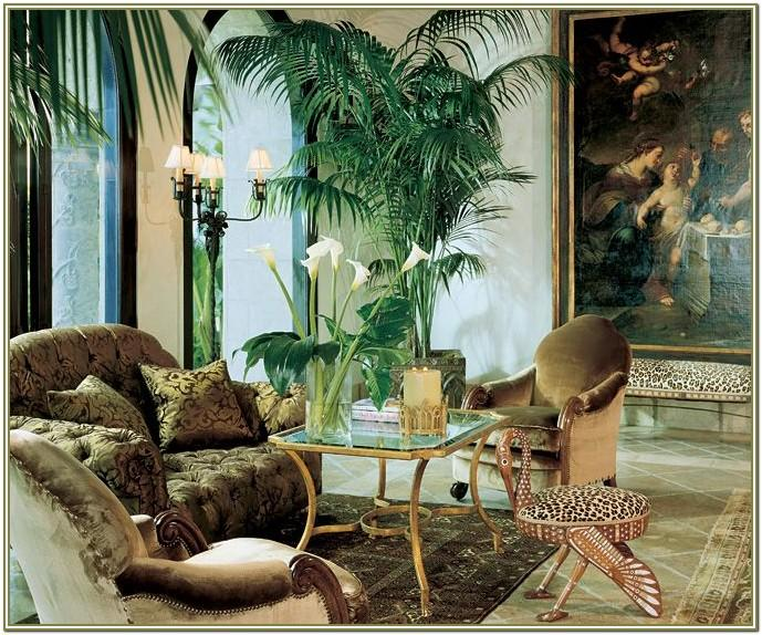Jungle Themed Living Room Decor