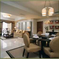 L Shaped Living And Dining Room Decorating Ideas