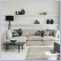 Large Decor For Living Room Floating Shelf