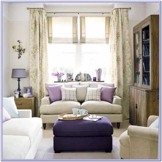 Lavender Living Room Decorating Ideas