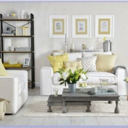 Lemon Green Living Room Decor
