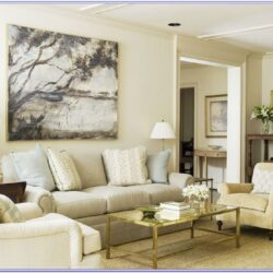 Light Beige Sofa Living Room Decor