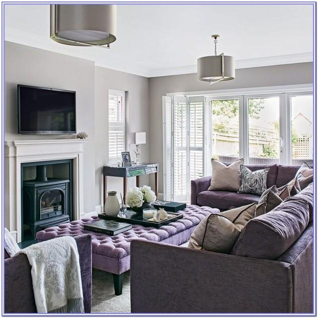 Lilac Living Room Decorations