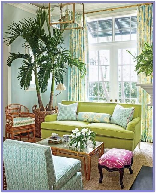 Lime Green Living Room Decorations