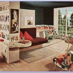 Living Room 1940 Decor