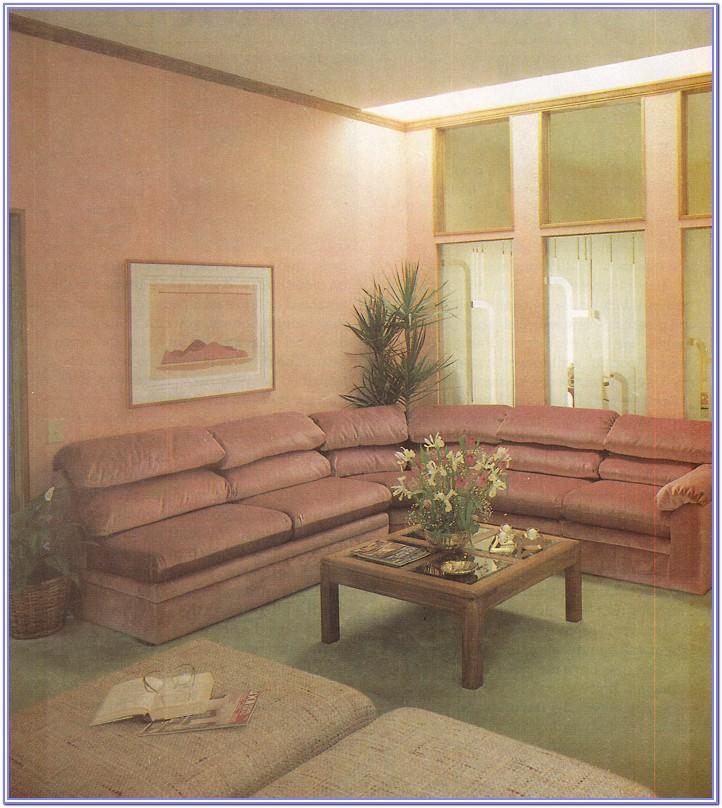 Living Room 80s Decor