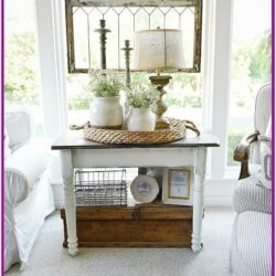 Living Room Accent Table Decor