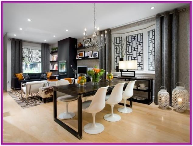 Living Room And Dining Decor
