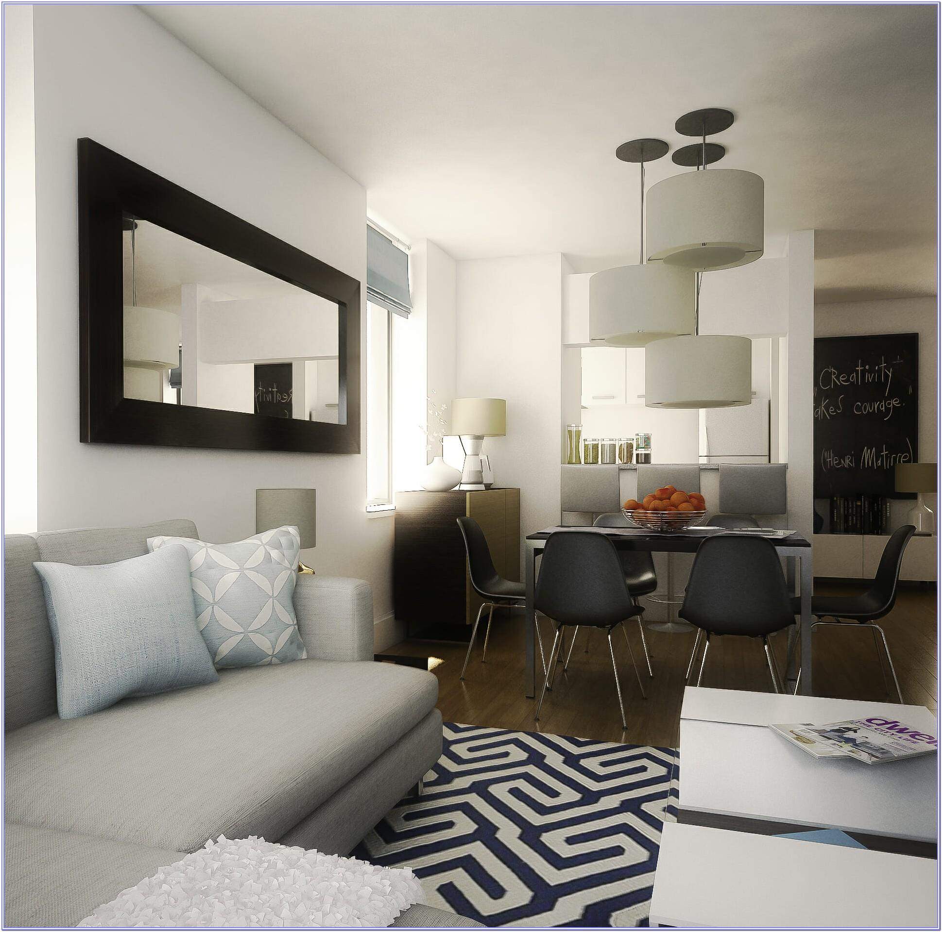 Living Room And Dining Room Decoration