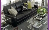 Living Room Black Furniture Decorating Ideas