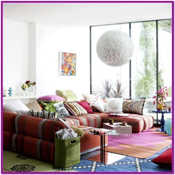 Living Room Boho Decor Ideas