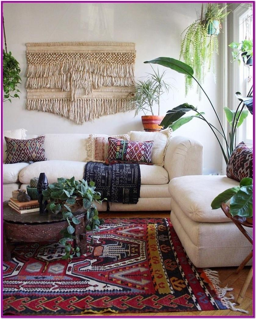 Living Room Boho Home Decor