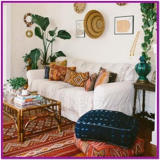 Living Room Boho Wall Decor