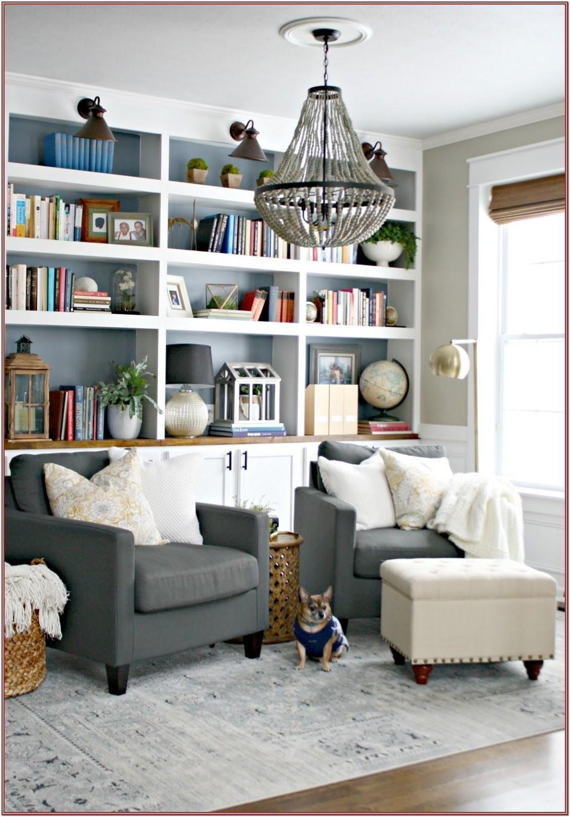 Living Room Bookshelf Decor Ideas