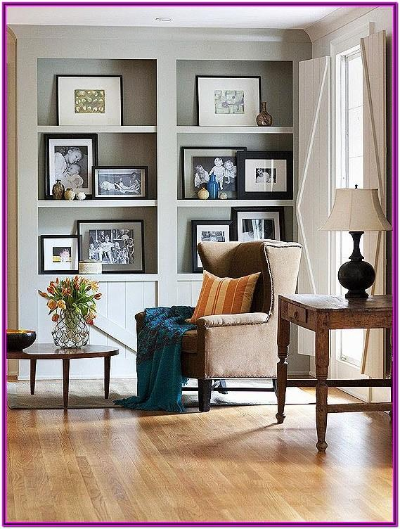 Living Room Bookshelf Decor In Ownhomes