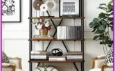 Living Room Bookshelf Decor Pinterest
