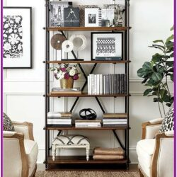 Living Room Bookshelf Decorating Ideas