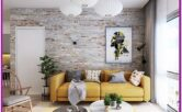 Living Room Brick Wall Decor