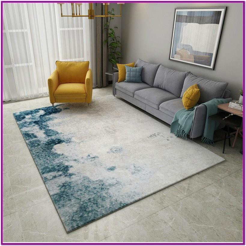 Living Room Carpet Decor