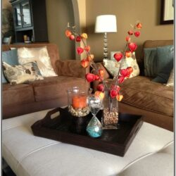 Living Room Center Table Decor