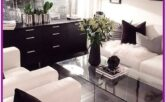 Living Room Center Table Decoration Black