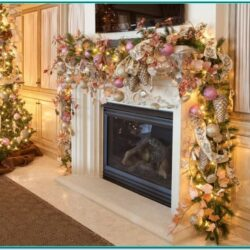 Living Room Christmas Decor Ideas No Fireplace