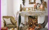 Living Room Christmas Decor Ideas Without Fireplace