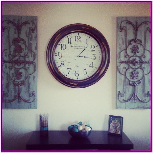 Living Room Clock Decor Ideas