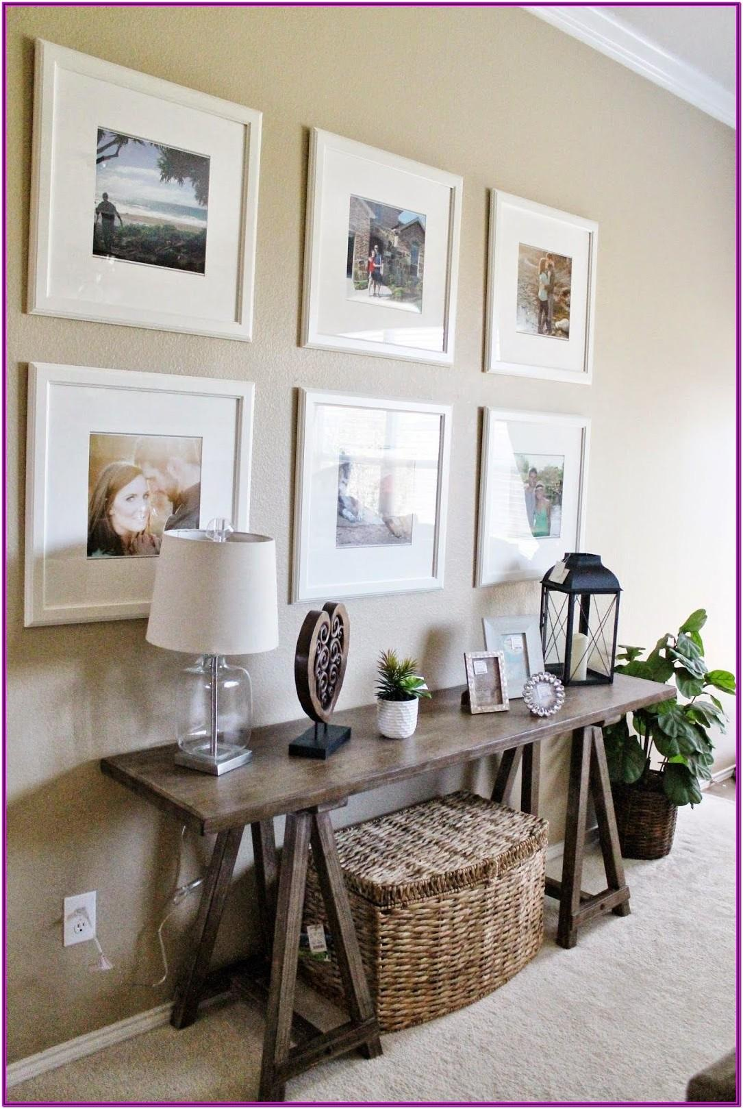 Living Room Console Table Decor Ideas