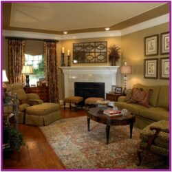 Living Room Corner Fireplace Decor Images