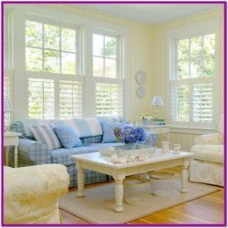Living Room Cottage Decor Ideas