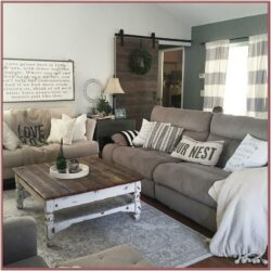 Living Room Country Chic Decor