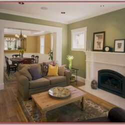 Living Room Craftsman Decor