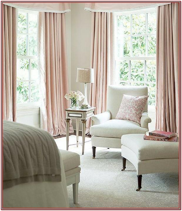 Living Room Curtains Decor Blush Pink