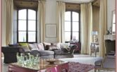 Living Room Curtains Decoration