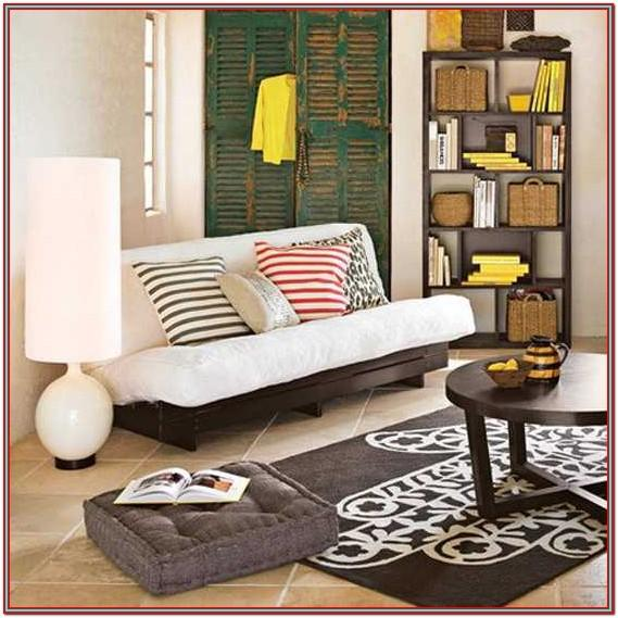 living room cushion wall decor