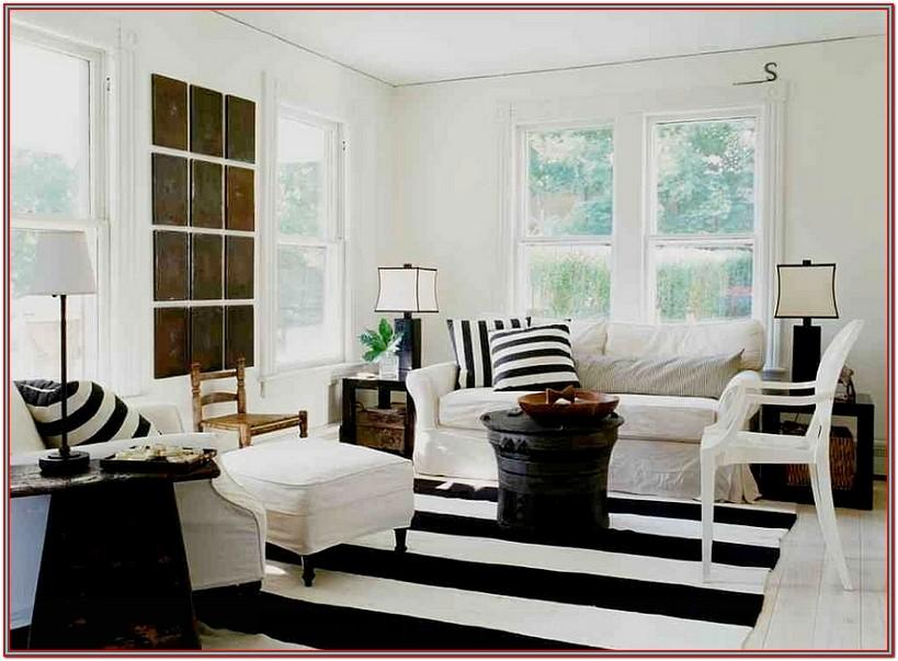 Living Room Decor Black And White Art