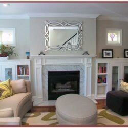 Living Room Decor Built Ins