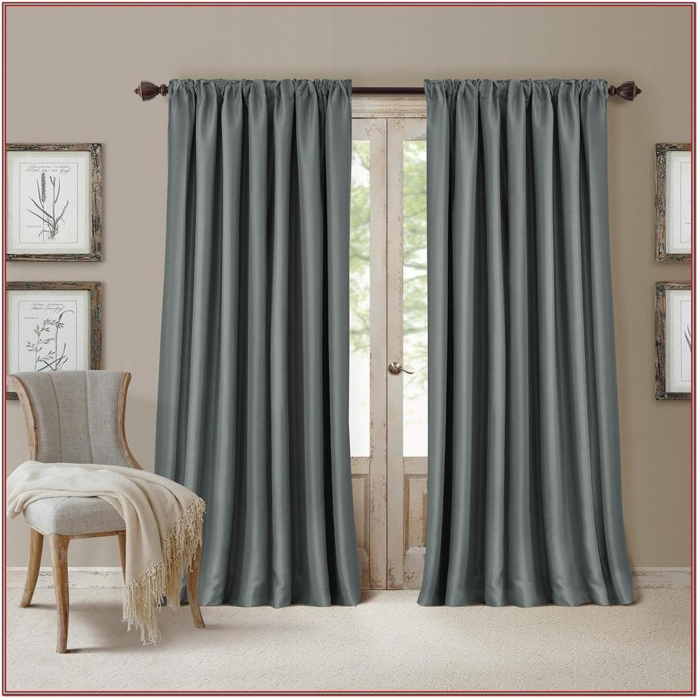 Living Room Decor Curtains Rods