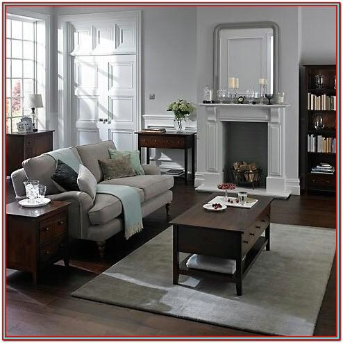 Living Room Decor Dark Wood Furniture
